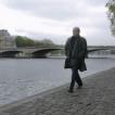 Antonio TABUCCHI à París.Photo: © Daniel Mordzinski/Octobre 2004.